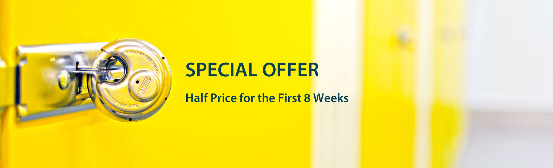 Special Offer - Half price for first 8 weeks